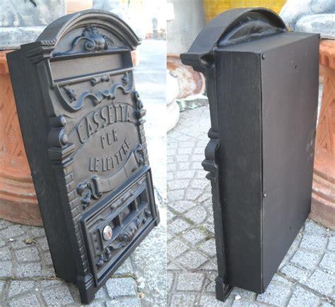 cassetta della posta da incasso cassetta della posta postale in alluminio pesante posta