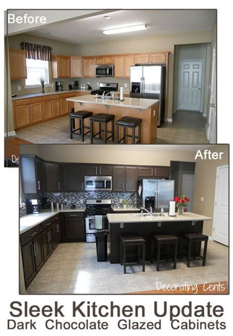 how to paint kitchen cabinets dark brown gallery for gt black painted kitchen cabinets before and after