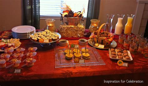 church banquet ideas   The spread! For the food, I wanted