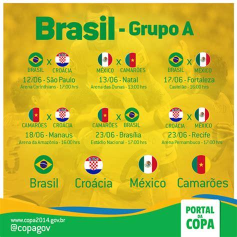 brasil estreia na copa do mundo contra a cro 225 cia governo