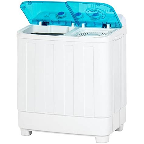 best compact washer best choice products portable mini tub compact washing machine w spin cycle white