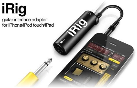 Irig Litube Ios Guitar Interface Adapter irig litube guitar interface adapter for iphone ipod touch black jakartanotebook