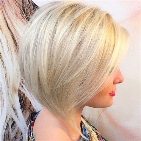 layered angled bob by gia platinum blonde by best 25 platinum blonde bangs ideas on pinterest blonde