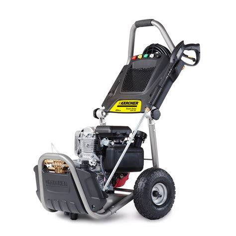 shop karcher  psi  gpm gas pressure washer  honda engine  lowescom