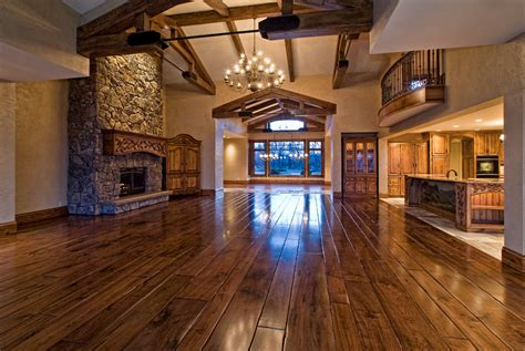 Rustic Elegance  Boise Idaho Homes   Rich
