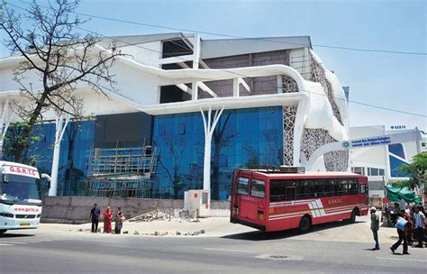 How Big Is 650 Square Feet Get A Glimpse Of Vadodara S Airport Like Bus Terminal