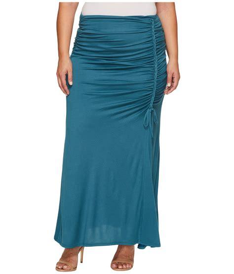 kiyonna mermaid maxi skirt at zappos
