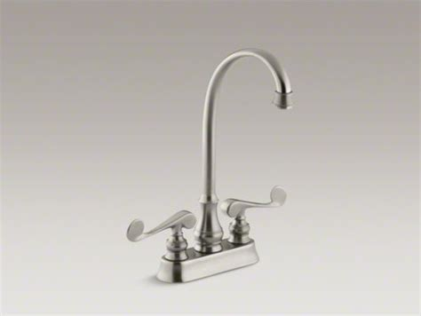 kohler revival r two centerset bar sink faucet with