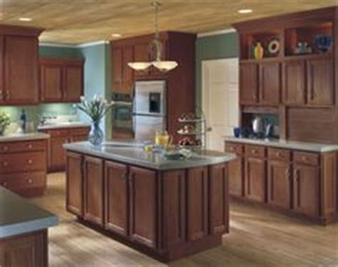 hickory floors with cherry cabinets photo shows light