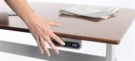 Work Environment Furniture Technology Dfco Digital Powered Standing Desk