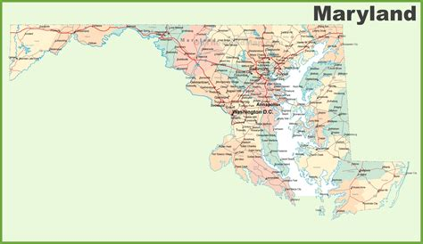 maryland map map of maryland pictures to pin on pinsdaddy