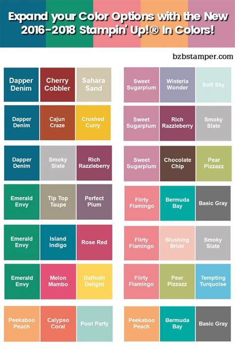 color pairings color combinations charts and in color on pinterest