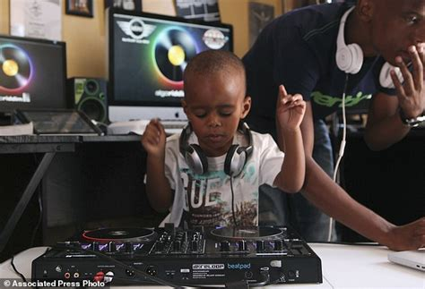 old school house music south africa dj aj aka oratilwe hlongwane is the world s youngest dj at two years old daily mail