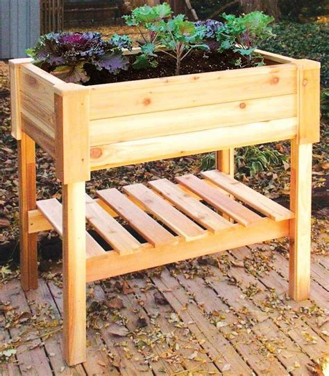 Raised Bed Planter Box by Top 25 Ideas About Planter Boxes On Gardens