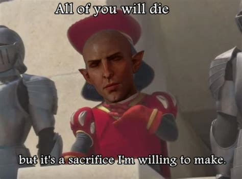 Dragon Age Memes - solas in trespasser dragon age know your meme