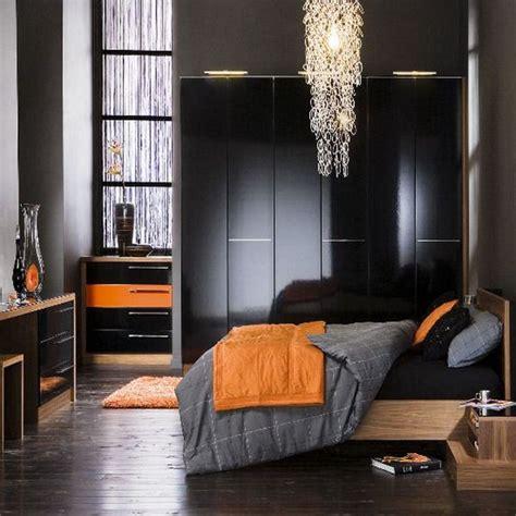 orange and black bedroom ideas my son really likes the gray black orange combo bedroom