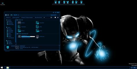 pc all themes free download ironman skinpack skinpack customize your digital world