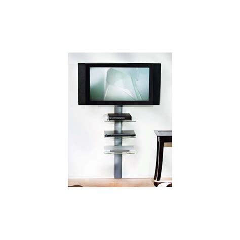 Lcd Tv Shelf by Lcd Plasma Tv Wall Mount 3 Glass Shelf Stand Depot
