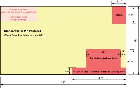 post card mailing template usps postcard guidelines 6x9 cards design templates
