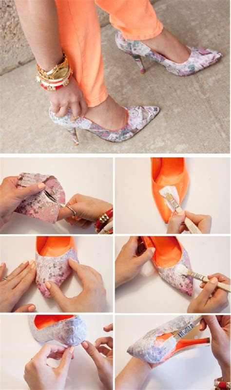diy shoes makeover 16 diy ideas for shoe heels makeover in your budget