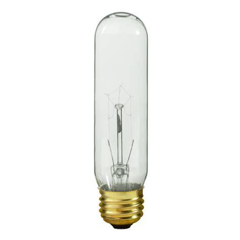 clear led light bulbs 60 watt satco s3896 60 watt t10 light bulb clear