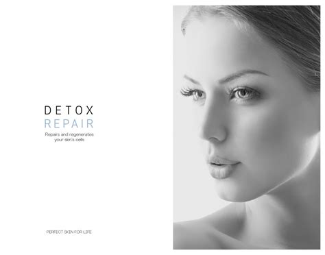 Detoxing Skin From Makeup by Detox Repair Du Cosmetics