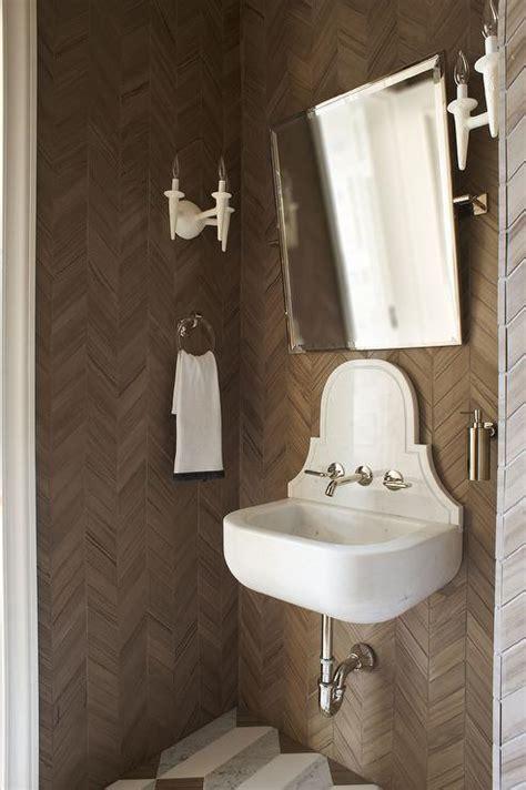 Java Java Wallpaper   Contemporary   bathroom   Lonny Magazine