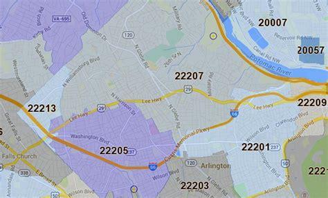 us area code virginia three arlington zip codes named area s wealthiest arlnow