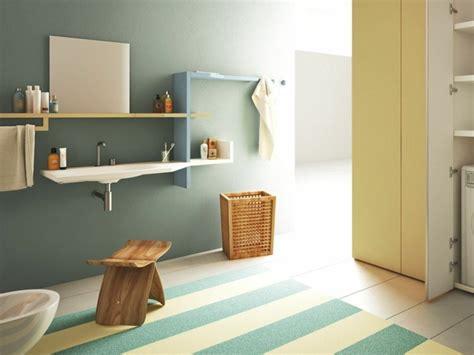 blaues und gelbes badezimmer badezimmer waschbecken 29 beispiele mit modernem design