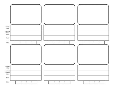 storyboard templates layne zimmers news
