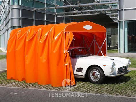 box auto in pvc box auto pvc e box per auto estensibili tunnel mobili