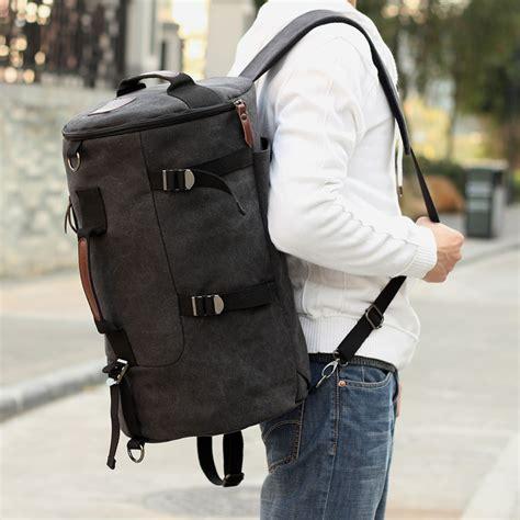 duffle bag for backpack aliexpress buy canvas backpack rucksack