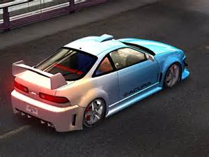 trackmania carpark 3d models acura integra tuning