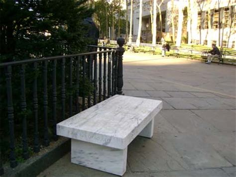 jenny holzer bench art in the parks current exhibitions new york city