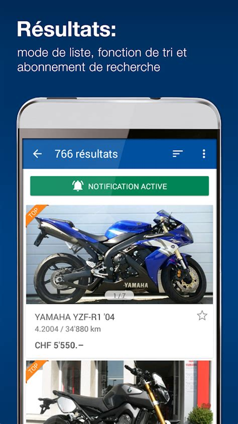 Motoscout24 D motoscout24 suisse applications android sur play