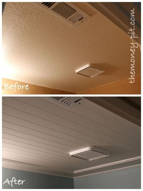installing beadboard ceiling drywall 17 best images about popcorn ceiling bye bye on