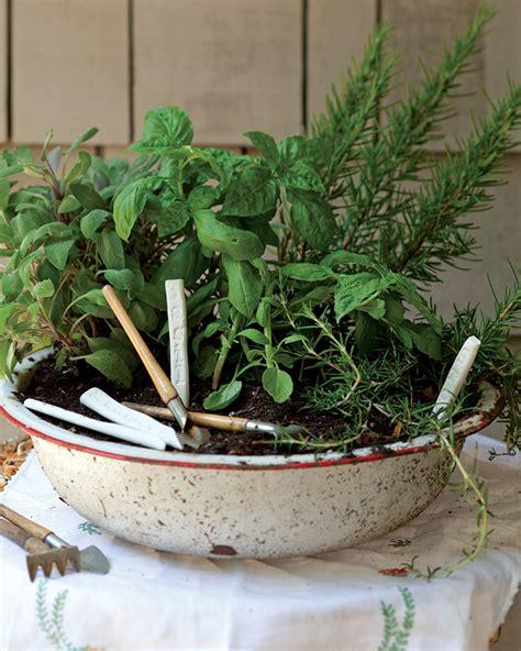 portable herb garden plant a portable herb garden southern magazine