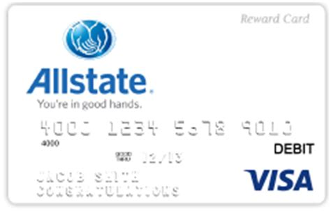 Allstate Rewards Gift Cards - custom prepaid cards for banks credit unions