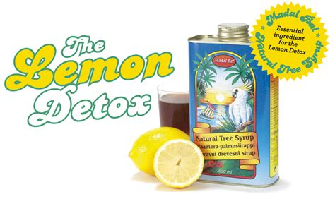 Memon Detox by Maple Syrup Lemon Juice And Water Detox Cleanse Detox
