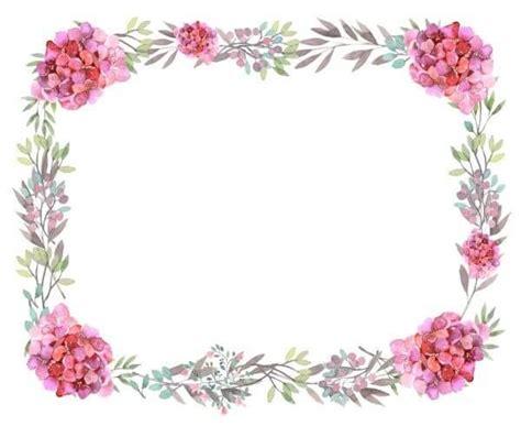 printable pink flowers pink flowers border free printable flower border