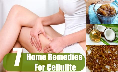 7 best home remedies for cellulite treatment