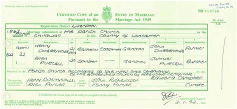 Gw Mba Registrar by Marriage Certificate Sle Uk Choice Image Certificate