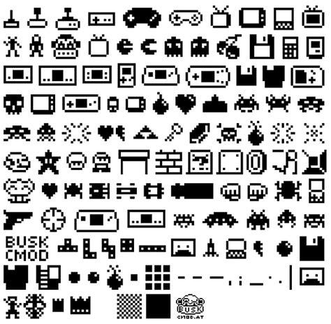font design game cmod subotron the ultimate 8 bit gamer font technabob