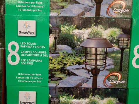Solar Led Path Lights Costco Led My Bookmarks Naturally Solar Pathway Lights Costco