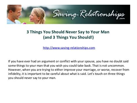 11 Things To Never Tell Your by 3 Things You Should Never Say To Your And 3 Things