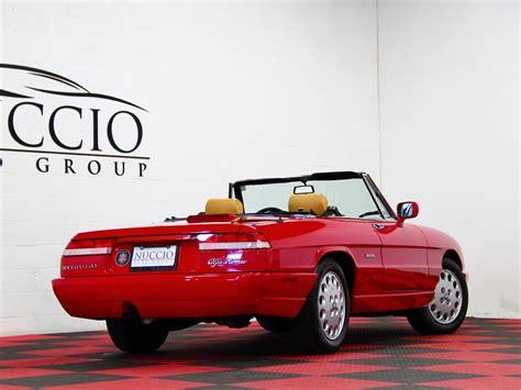 1991 Alfa Romeo by 1991 Alfa Romeo Spider Veloce