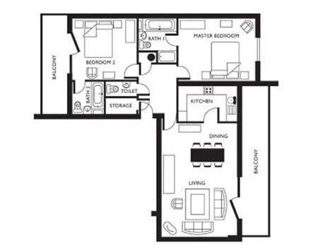 Habitat Floor Plans by Logement 224 Londres Location Meubl 233 E T3 Canary Wharf