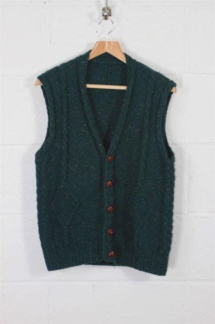 mens knitted wool waistcoat 17 best images about dk on wool vintage