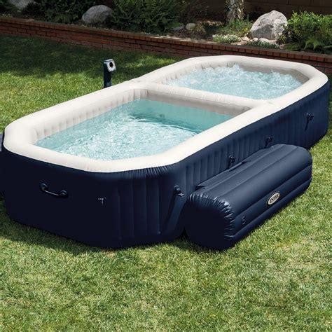 comfortable pool temperature range intex purespa bubble hot tub and pool combo 187 petagadget