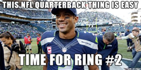 Russell Wilson Memes - 2014 2015 nfl playoff battle of memes cam newton vs